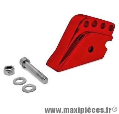 01.Rehausse amortisseur alu Rouge pour Peugeot Trekker, Buxy…