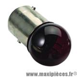 Ampoule 12v 21/5w rouge BAY15D x1 *Déstockage !
