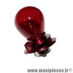 Ampoule/lampe 12v 15w rouge culot P26S *Déstockage !