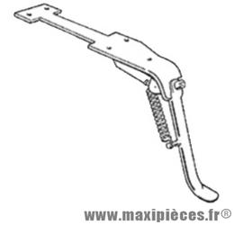 Déstockage ! Béquille latérale noir Olympia pour Piaggio Vespa PX125