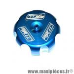 Bouchon réservoir alu bleu Wills HONDA CRF / TRX / XR *Déstockage !