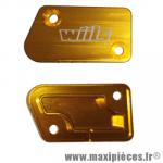 Capot de maitre cylindre de frein avant Or WIILS pour Yamaha YZ 125/250 YZF 250/450 WRF 250/450 *Déstockage !