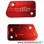 Capot de maitre cylindre de frein avant Rouge WIILS pour Yamaha YZ 125/250 YZF 250/450 WRF 250/450 *Déstockage !