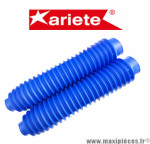 Paire de soufflet de fourche universel bleu Ariete Diamètre 40/57 mm Longueur 360mm *Destockage !