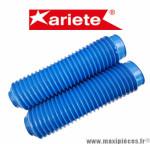 Paire de soufflet de fourche universel bleu Ariete Diamètre 40/60 mm Longueur 285mm *Destockage !