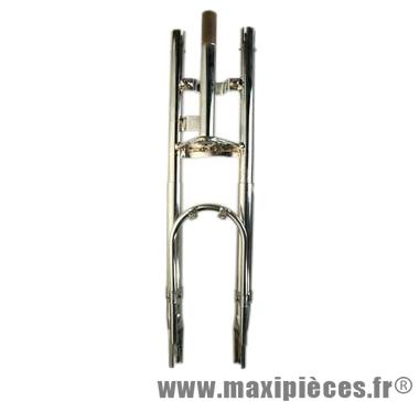 Fourche chromé adaptable 103 mvl, vogue, chrono Diam 25mm.