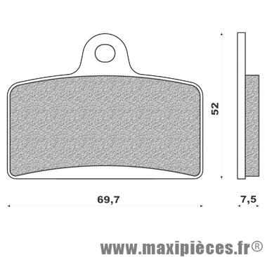 Déstockage ! Plaquette de frein avant Galfer Aprilia RS4
