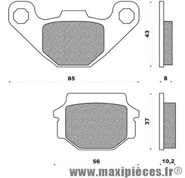 Déstockage ! Plaquette de frein arrière Galfer Aprilia RX 125
