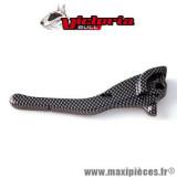 Levier de frein de scooter adaptable origine pour mbk nitro/aerox gauche ou droit carbone Victoria Bull *Déstockage !