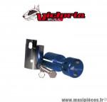Potence alu anodisé bleue Victoria Bull pour Scooter 50cc peugeot ludix / speedfight 3/4 / kisbee / jet force *Déstockage !