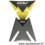 Adhésif de protection pour réservoir jaune et gris Suzuki SV Ariete *Déstockage !