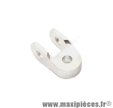 Déstockage ! Rehausse amortisseur alu poli pour scooter MBK booster et peugeot TKR (30mm)