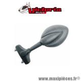 Rétroviseur ovoïde de carénage carbone droit/gauche diam:2x8mm *Déstockage !