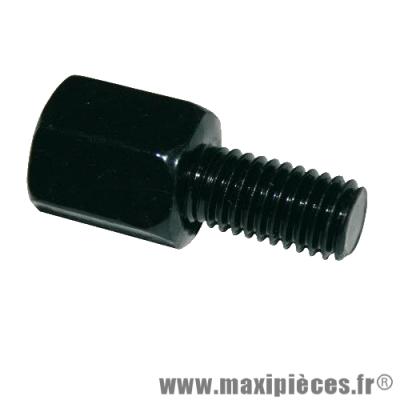 Adaptateur rétroviseur femelle diamètre 8mm pas droit en male diamètre 8mm pas gauche *Déstockage !