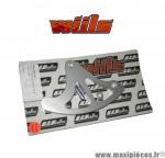 Protection de disque arrière WIILS argent pour motocross Suzuki RM 125-250 / RMZ 250-450 *Déstockage !