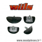 Gripster de roue avant WIILS alu - 1,6
