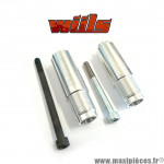 Fixations de tampons Wiils pour Suzuki SV N et S 650cc de 2003 à 2007 (la paire) *Déstockage !