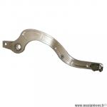 Pédale de frein CNC Wiils pour motocross SUZUKI 250/450 RM-Z - GRIS (ARGENT) *Déstockage !