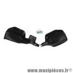 Protège main plastique noir avec protection de réservoir maître cylindre fixation sur axe/vis de levier de frein et embrayage * Déstockage !