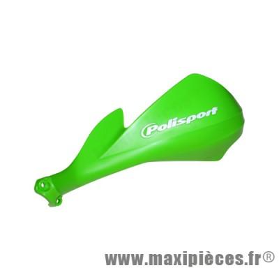Déstockage ! Protège main de moto, 50 a boite et quad polisport sharp Vert Kawasaki