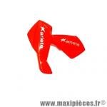 Protèges-mains enfants motocross de marque Ariete universels rouge *Déstockage !