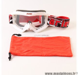 Déstockage ! Masque/Lunette cross Ariete Palladium Collection Blanc