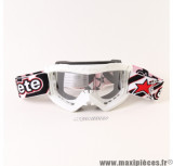 Prix discount ! Masque/Lunette cross Ariete Fuoco Collection Blanc