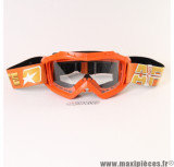 Déstockage ! Masque/Lunette cross Ariete 07 Line AAA Orange