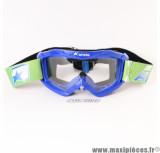 Masque/Lunette cross Ariete 07 Line AAA Bleu *Déstockage !