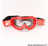 Masque/Lunette cross Ariete 07 Line AAA Rouge *Déstockage !