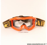 Prix discount ! Masque/Lunette cross Ariete  couleur Orange