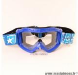 Masque/Lunette cross Ariete 07 Line AAA couleur Bleu *Déstockage !