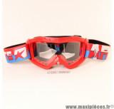 Prix discount ! Masque/Lunette cross Ariete  couleur Rouge