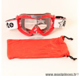 Déstockage ! Masque/Lunette cross Ariete Palladium rouge pailleté