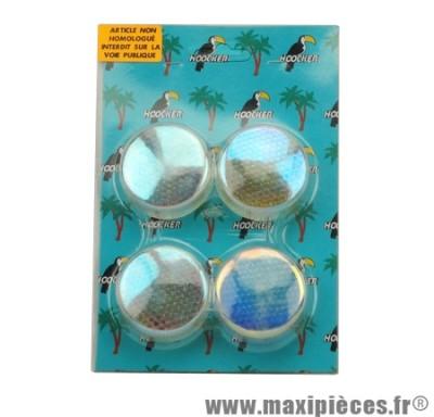 Déstockage ! Kit Cabochon de clignotant iridium bleu Aprilia RS 99-05, Derbi Xtrem et Xrace 04-05