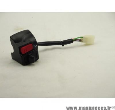 Déstockage ! Commodo adaptable gauche pour mbk booster 90-99