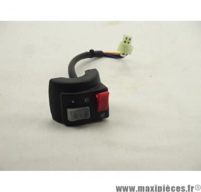 Déstockage ! Commodo adaptable droit pour mbk booster 90-99
