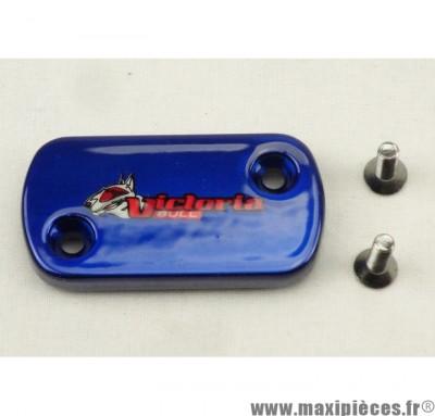 Déstockage ! Couvercle de maitre cylindre AJP/Derbi Victoria bull Bleu
