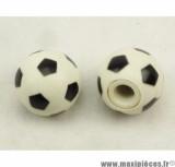 Déstockage ! Bouchon de valve en forme de Ballon de foot (paire)