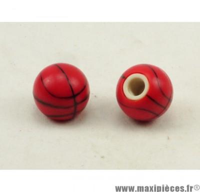 Déstockage ! Bouchon de valve en forme de Ballon de Basket (paire)