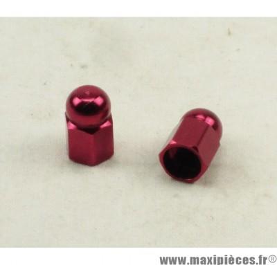 Déstockage ! Bouchon de valve en forme de pions Rouge (paire)