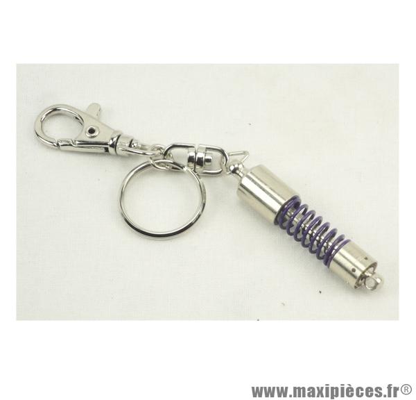 Porte clés amortisseur Violet