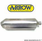 Silencieux seul d'échappement ARROW REFLEX titane pour Maxi-scooter HONDA 125 FES PANTHEON 03-07 / 150 PCX 12-18 *Déstockage !