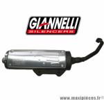 Pot d'échappement Giannelli FREE WAY pour maxi-scooter Aprilia Leonardo 250 cm3 de 1998/2001 *Déstockage !