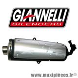 Déstockage ! pot d'échappement Giannelli free way pour maxi-scooter Piaggio X8 125/200cc 2004/2005