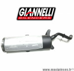 Pot d'echappement Giannelli FREE WAY pour Piaggio X9 250cc de 2000/2001 *Déstockage !