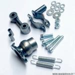 Kit fixation de pot d'échappement cyclomoteurs Peugeot 103 / MBK 51 et autre bras oscillant ovale * Déstockage !