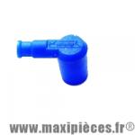 Antiparasite type olive Ariete Bleu en silicone diamètre 6.3mm. *Déstockage !
