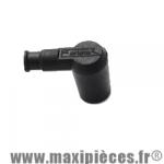 Antiparasite type olive Ariete Noir en silicone diamètre 6.3mm. *Déstockage !