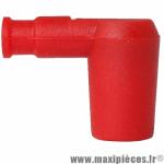 Antiparasite type olive Ariete Rouge en silicone diamètre 6.3mm. *Déstockage !